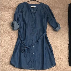 Denim loft dress!
